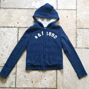 Abercrombie and Fitch Kids fleece lined hoodie